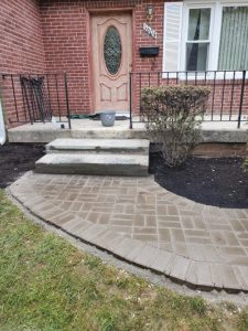 Hardscaping and walkways